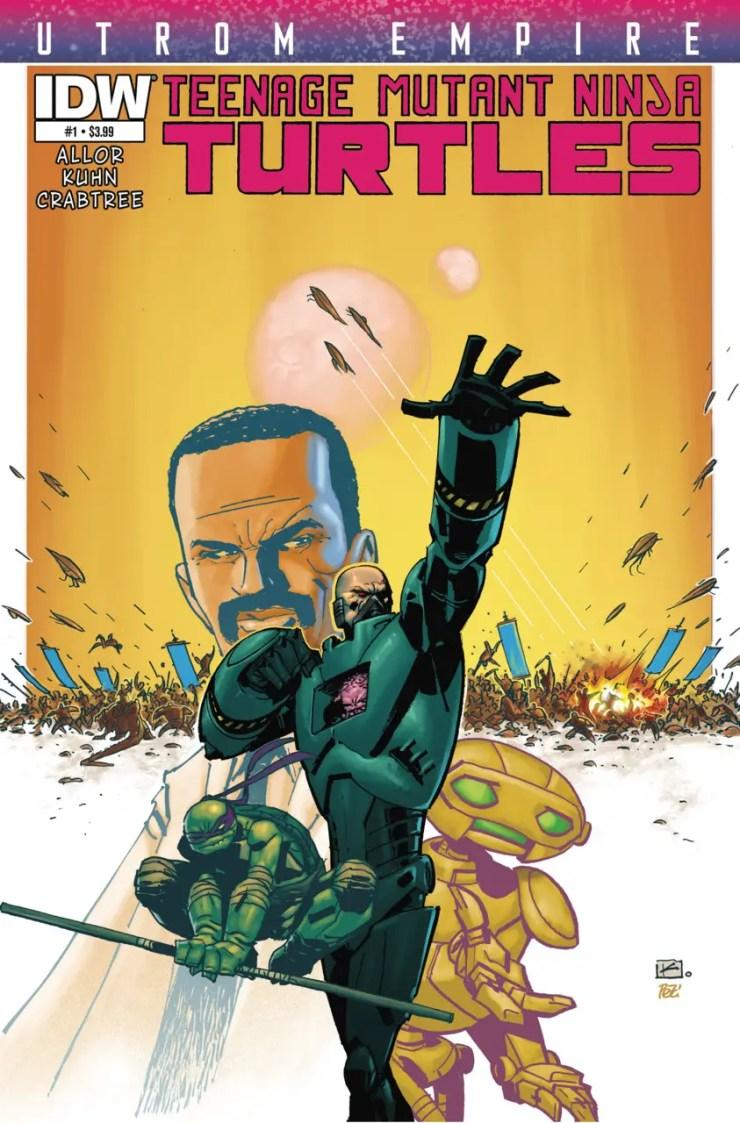 Is It Good? Teenage Mutant Ninja Turtles: Utrom Empire #1 Review