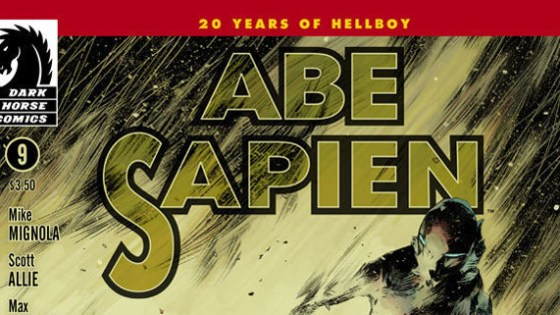 Back with Mr. Sapien. Issue 9. Is it good? Let's do this bitch!