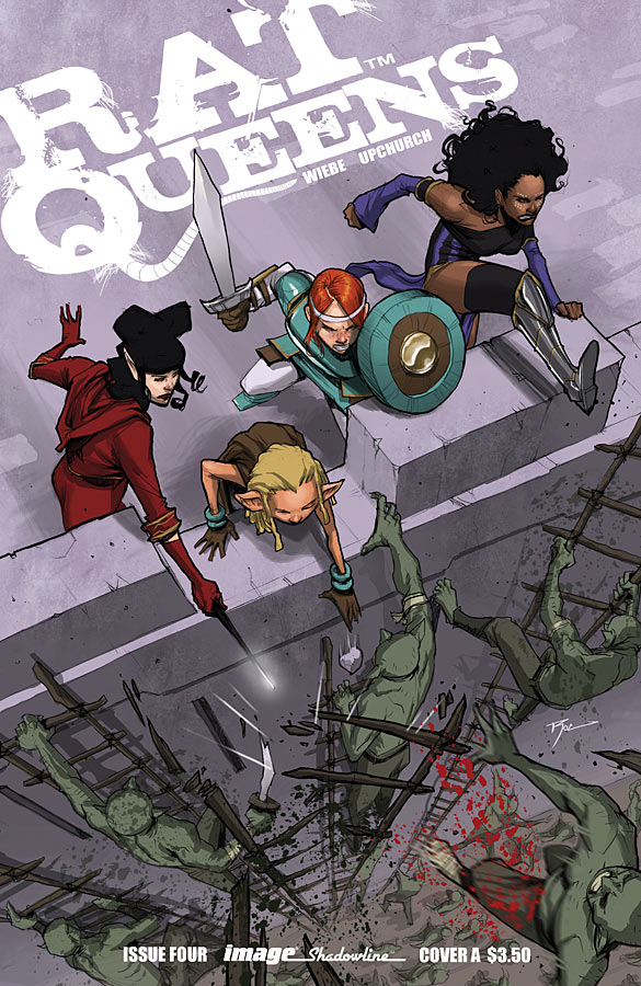 Is It Good? Rat Queens #4 Review