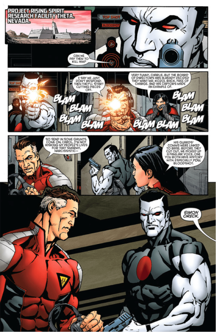Is It Good? Bloodshot and H.A.R.D Corps #18 Review