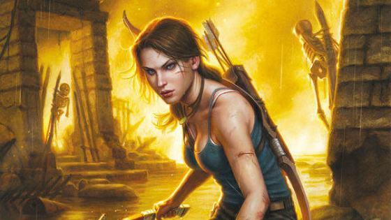 Preview: Dark Horse's Tomb Raider #1