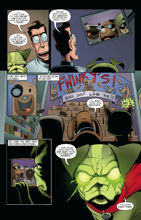 axe-cop-volume-5-axe-cop-gets-married-and-other-stories-tpb-dog