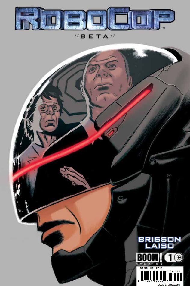 Publisher BOOM! Studios has been producing Robocop tie-ins for the last month exploring the new rebooted universe.  So far they've tied directly into the character we see on the screen, but this week we're given a look at an interesting beta version of Robocop used in the war with Iran. This issue explores one of the Robocop failures; is it good?