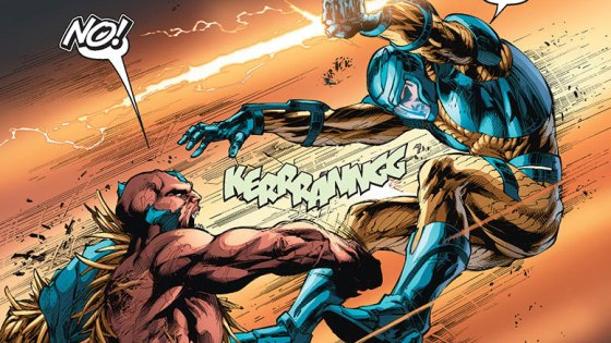 Valiant Entertainment has been doing a good job restablishing some classic B-list heroes from way back in the 90s. X-O continues to be rather good as he fights to keep his people, humans taken from Earth thousands of years ago but now living in 21st century Romania, and the suit on his back. Everyone wants it. But do you want this comic? Is it good?