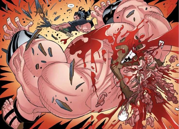 Panels in Poor Taste: 5/2/14 –Naked Spider-Men and Eyeballs Galore