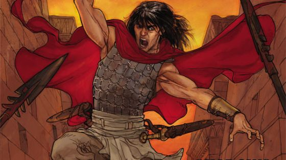 Conan is down in the dumps, which means only one thing:  time to slice up some zombies! Yes that's right, zombies are in this issue, and there is some choice slicing, but is it good?