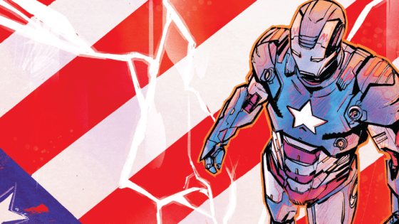Last issue of Iron Patriot was a little depressing; not because of what happened in the story but because the comic showed so much promise with the first issue and then dipped in quality slightly with the second.
