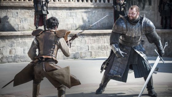 "Before we begin:  there be spoilers here.  But you knew that already; a Game of Thrones episode (Season 4.08) with a title like ""The Mountain and the Viper"" isn't exactly enigmatic."