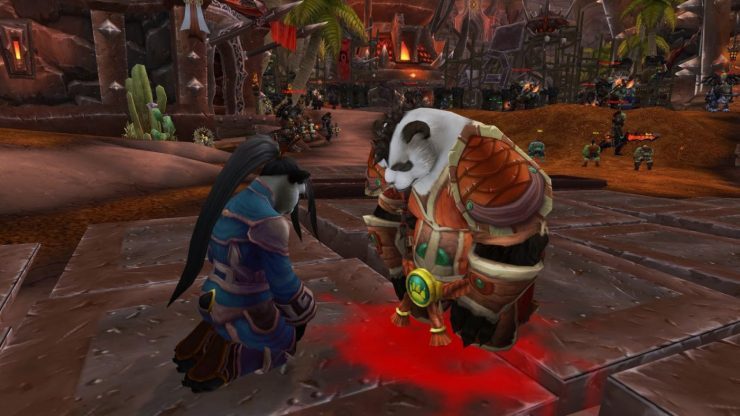 What Becomes of the Remaining Alliance/Horde Pandaren?