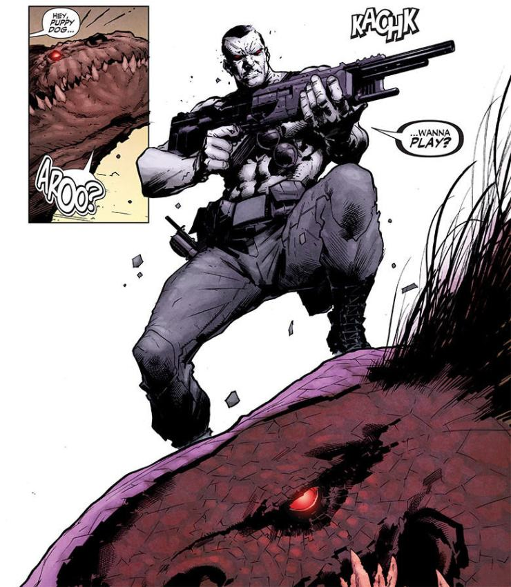 Is It Good? Armor Hunters: Bloodshot #1 Review