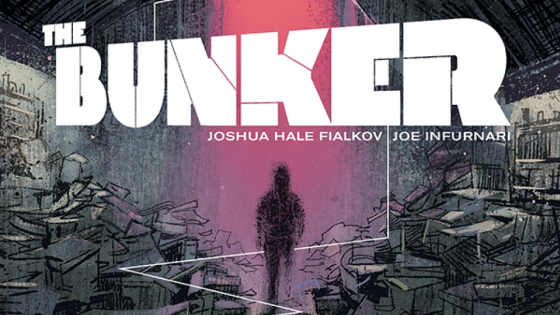 Collecting the first four print issues of the digital-first series by Joshua Hale Fialkov and Joe Infurnari, The Bunker Volume 1 tells the story of five young people that discover a mysterious underground bunker with letters from there future selves explaining how they all have a hand in ending the world. Is it good?