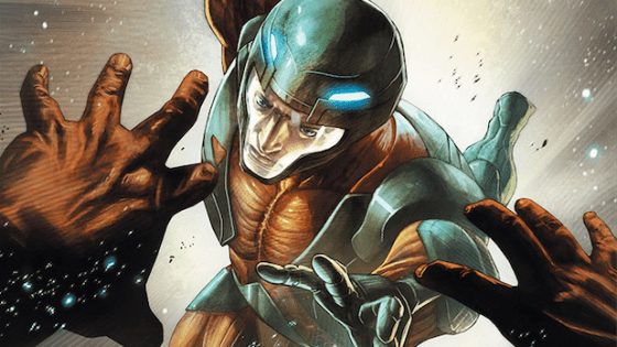 Armor Hunters has been my favorite storyline of the summer, but how are its tie ins?  (So-so to great, actually.)  We'll find out if that trend continues with X-O Manowar #28, a storyline focused on the history of the hunters themselves. Is it good?