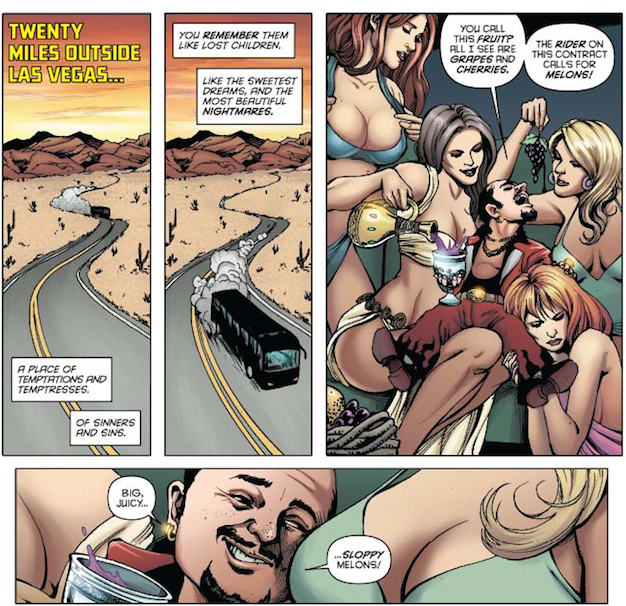 Panels in Poor Taste: 9/5/14 –Horse Punches and Sloppy Melons