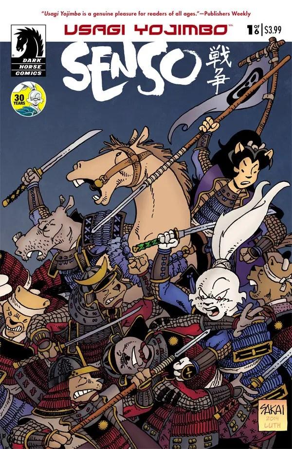 Is It Good? Usagi Yojimbo: Senso #1 Review