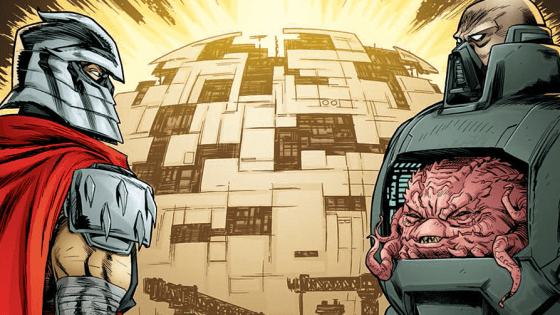 Last month, things got freaky and weird with the Rat King before leaving us with a heck of a cliffhanger: Krang and Shredder having a parlay to discuss a possible alliance. In this issue, we get to see how that goes. Is it good?