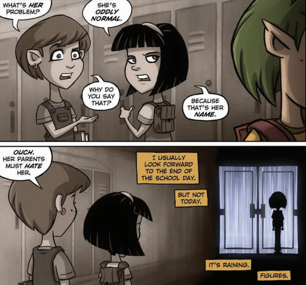Is It Good? Oddly Normal #1 Review