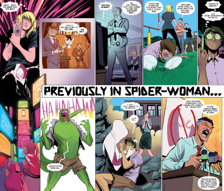 Spider-Gwen: Gwen Stacy TPB Review