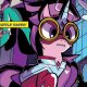 The My Little Pony: Friendship is Magic Annual has arrived.  This year's focus?  The Power Ponies, superheroes from a comic book that Spike was reading last season.