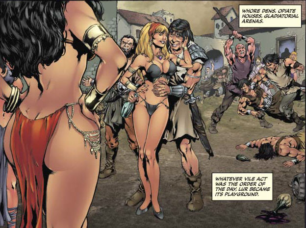 Is It Good? Red Sonja: The Black Tower #2 Review
