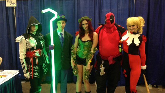 We were out in full force at Rhode Island Comic Con 2014 today, and it was a lot of fun. Rather than try to describe it, let's just show you first hand: