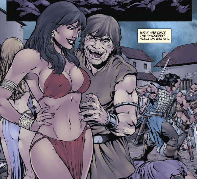 Is It Good? Red Sonja: The Black Tower #3 Review