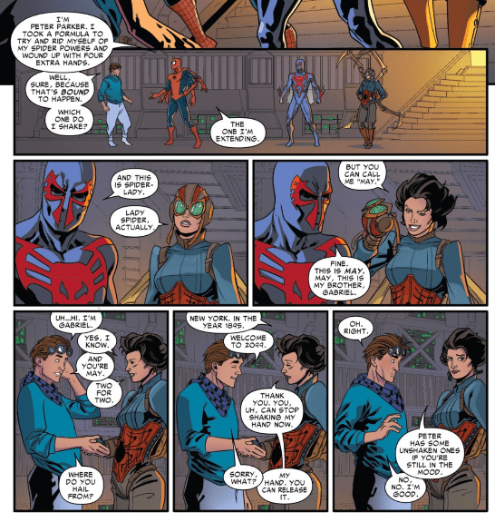Is It Good? Spider-Man 2099 #6 Review