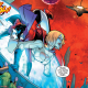Last we left off in Harley Quinn, our titular antiheroine had convinced an amnesia stricken Power Girl that they were a crime fighting duo and after a bit of shopping the two of them are about to face down their first villains together.  How will their first outing go?  Is it good?