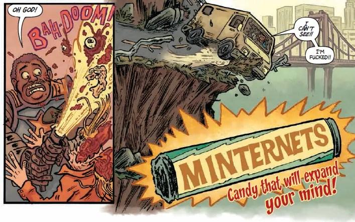 Panels in Poor Taste: 12/5/2014 - Zombie Mounties and Santa Pimp