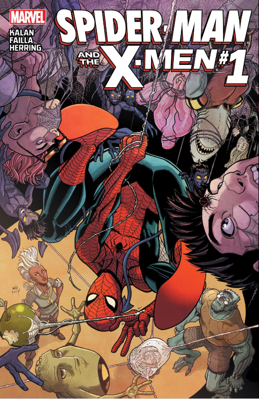 I recently read that Storm is the only hero to be part of the X-Men, Fantastic Four and Avengers...but I guess that changes today! Spider-Man joins the X-Men...is it good?