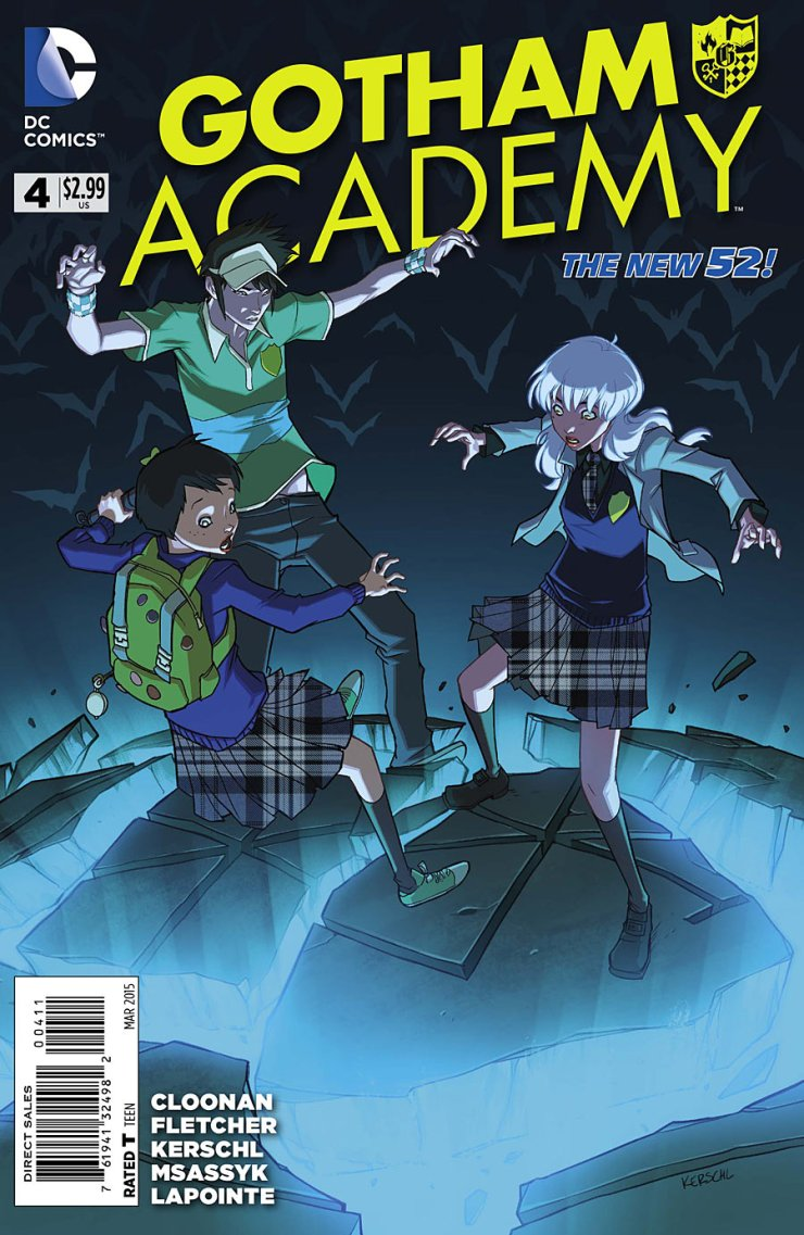 Is It Good? Gotham Academy #4 Review