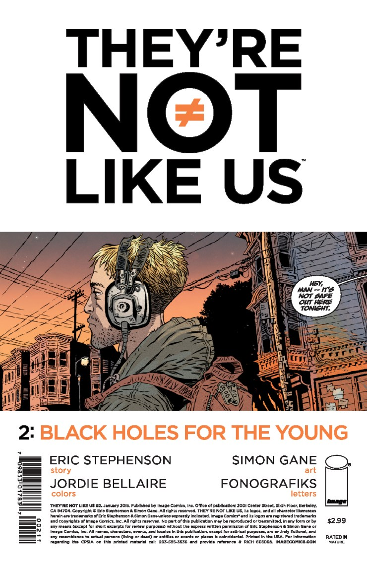 Is It Good? They're Not Like Us #2 Review