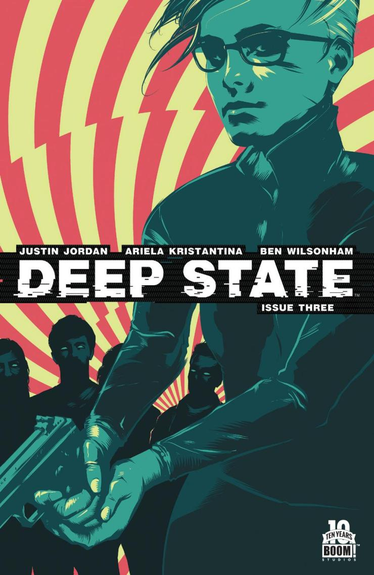 After last month's fairly interesting and gore-infused installment, Deep State is back with its third issue. Is it good?