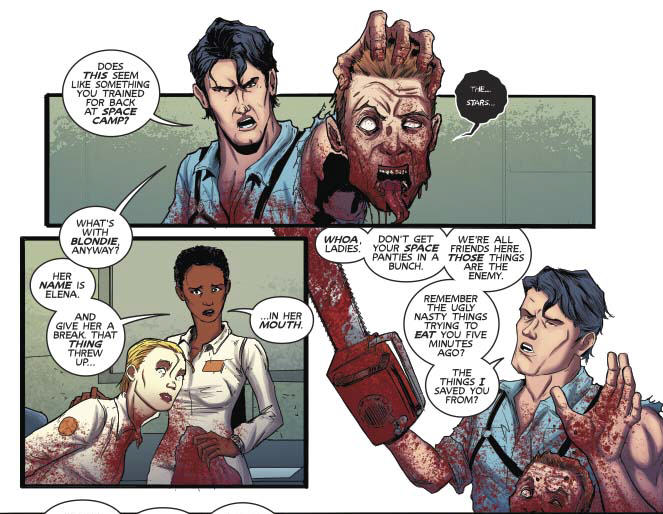 Panels in Poor Taste: 2/13/15 –Eye-Licking and Decapitations