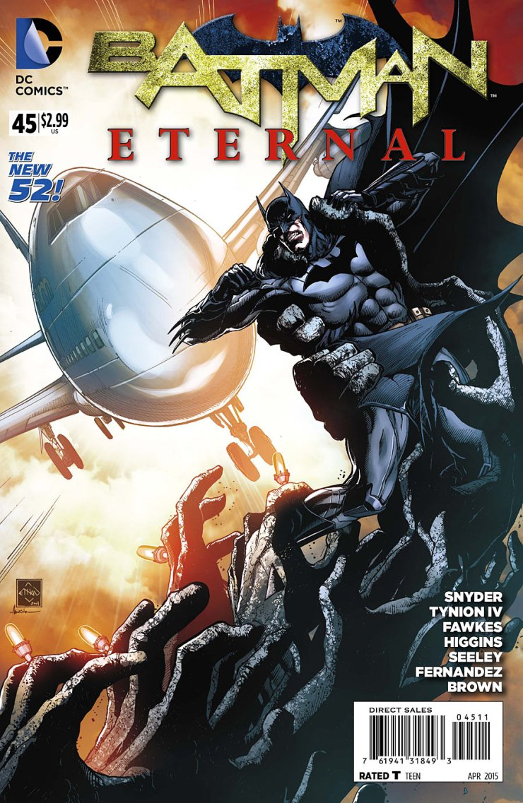 Last issue, while looking really good, unfortunately felt like a step back. We really didn't make any progress anywhere in the story and that is rather annoying, especially considering how close we are to the end. I hope we get going with this issue, because it's really time for this book to stop spinning its wheels.