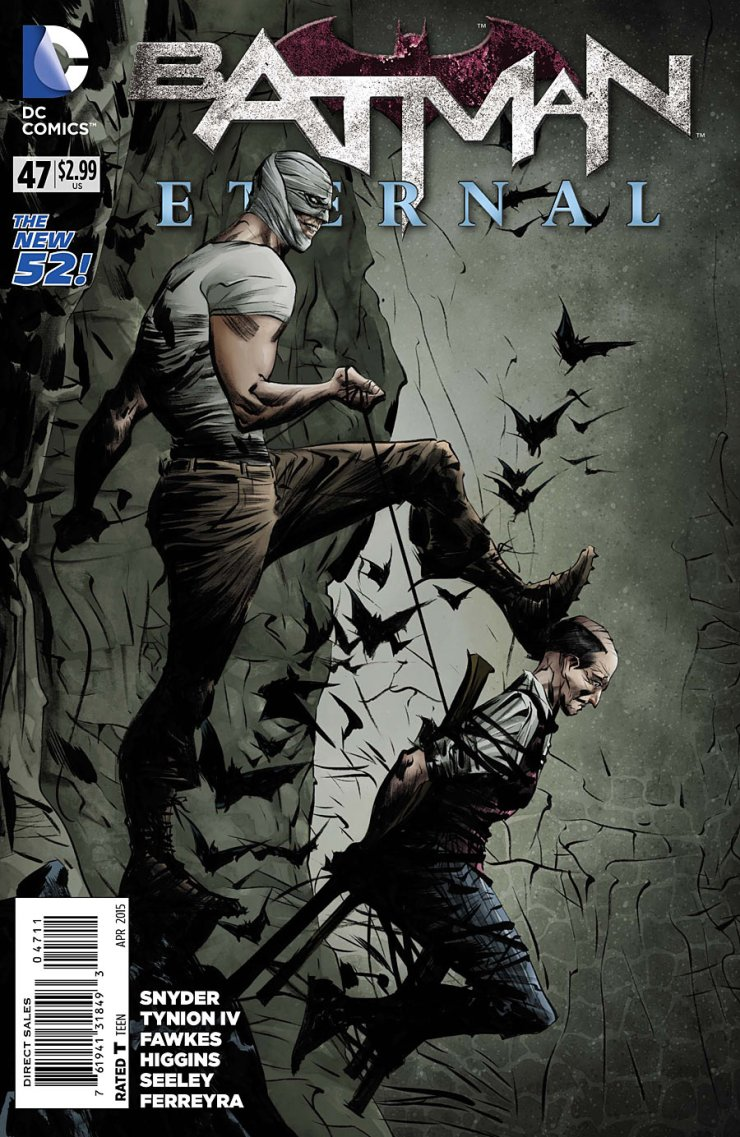 Batman Eternal is still, somehow, spinning its wheels as we approach the last month of its run. Will we discover the true culprit behind everything soon? Will we get some real plot development? Let's find out in the newest issue!