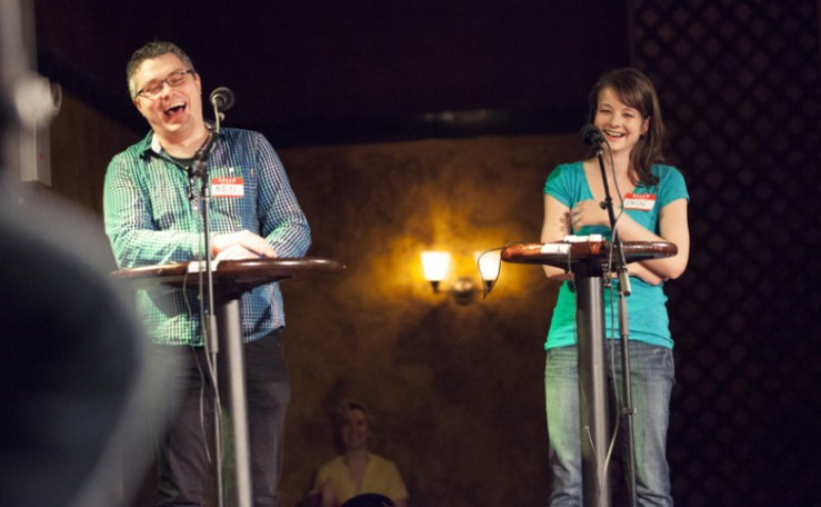Art of Science:  Smashing Into Life with Story Collider