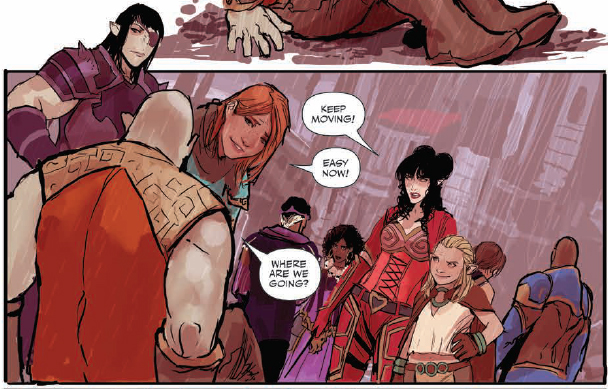 Tentacles. Flashbacks. Tiny killer birds. Palisades and the Rat Queens are in big trouble. Is it good?