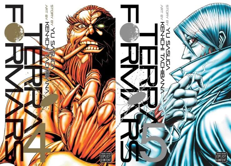Terra Formars Vols. 4 & 5 Review