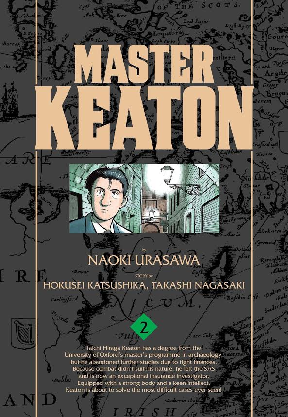 master-keaton-vol-2-cover