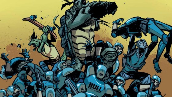 After an action-heavy opening issue, Paul Allor and Andy Kuhn's Mutanimals returns for issue number two. Is it good?