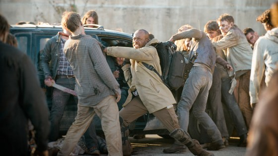 The fifth season finale of The Walking Dead is upon us? Will Morgan make it to Alexandria? Will Rick get exiled? Will Maggie and Glenn ever share a scene together again? And most importantly…is it good?