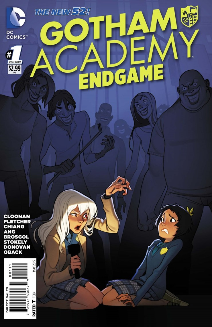 We took a look at the Batgirl tie-in for Endgame a bit ago, so why not look at another one? This time, Gotham Academy gets the Endgame treatment. Is it good?