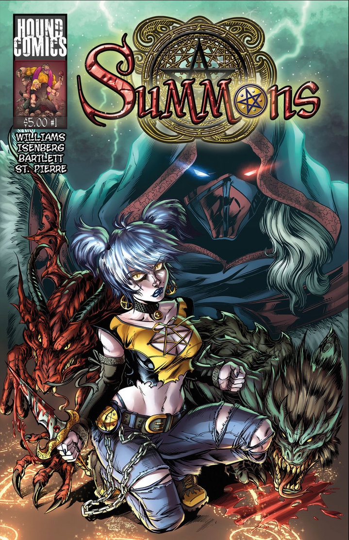 Indie Comic Corner: Summons #1 Review