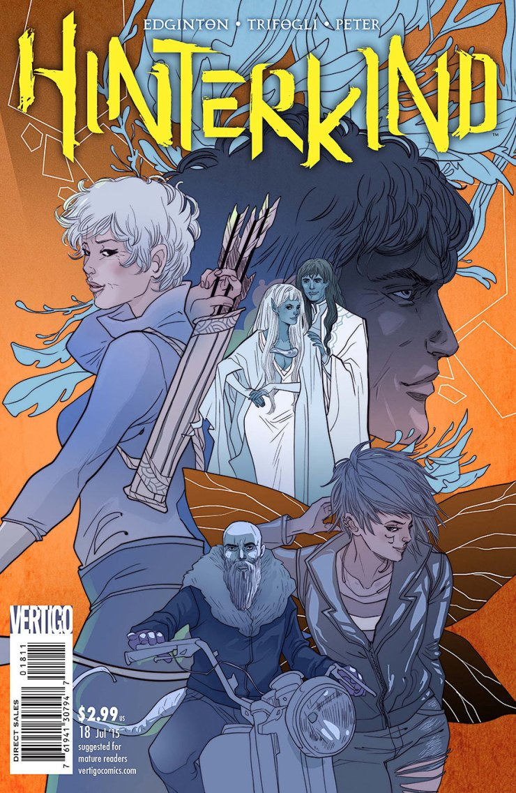 This is it folks. The final issue of Hinterkind. It's been an interesting ride for me, seeing how my views changed on the book the longer it went on. I started off not really caring about it at all in the first issue, and here we are at the final issue, where I am genuinely sad to see it come to an end. It's had its ups and downs, but it's still been a fun ride. Let's see how the final issue comes to a close. Is it good?
