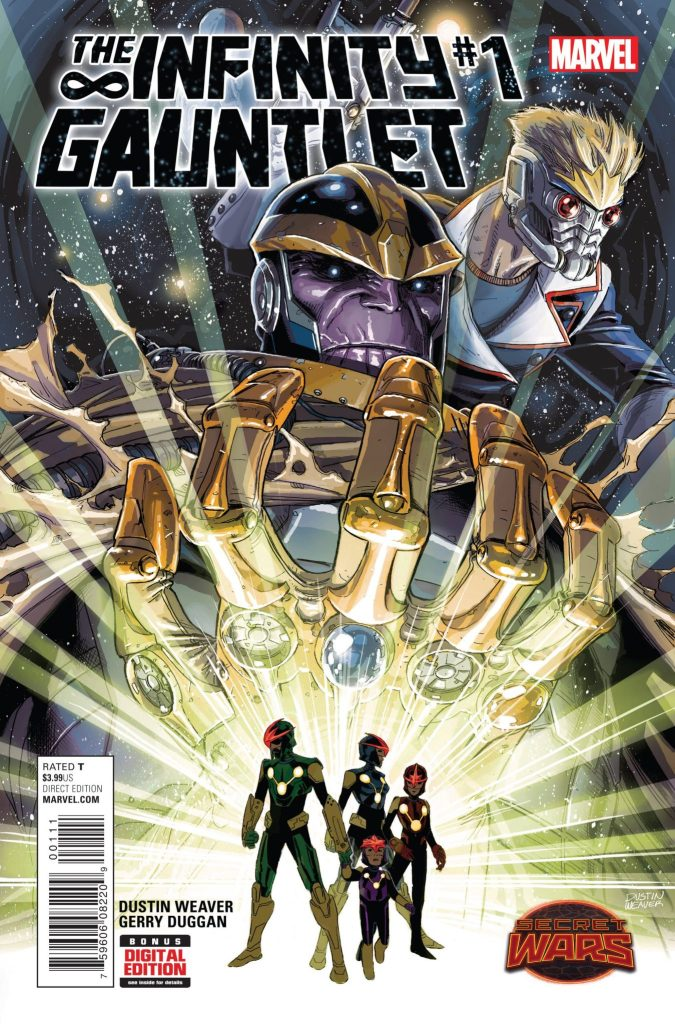 Infinity Gauntlet 1 cover
