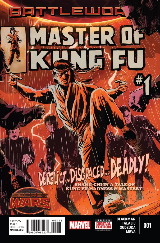 Master of Kung Fu #1 cover