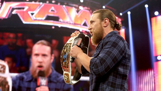 This week's Raw was something of an emotional roller coaster. To its credit, it was extremely well paced, which is not something you can normally say about an episode of Monday Night Raw. The mid-card is heating up to the point where nearly everybody has at least some type of storyline going on; something that makes the hours fly by rather than feeling like a slog of meaningless matchups, just filling time until the main event. And the main event isn't suffering because of this mid-card renaissance, either–this go-home episode of Raw effectively sold the upcoming Payback main event very well. But those were the peaks; we also endured a huge valley in the form of Daniel Bryan once again relinquishing gold. Let's get into it.