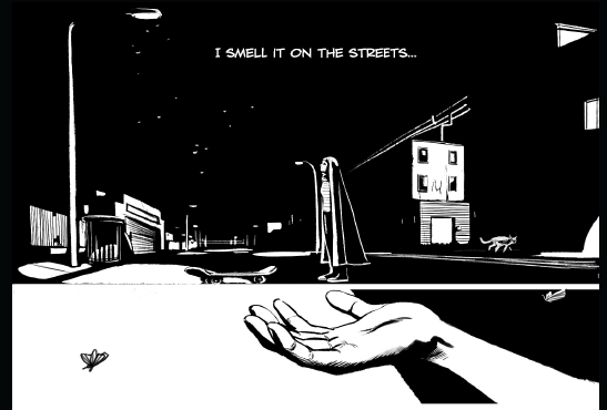 Indie Comic Corner: A Girl Walks Home Alone at Night #1 Review