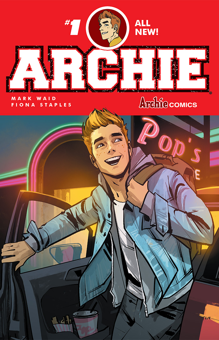 First Look: Mark Waid and Fiona Staples' Archie #1