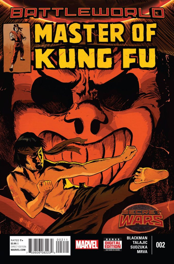 Master of Kung Fu 2 Cover